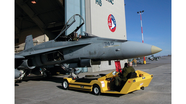 Military Towbarless Aircraft Towing Vehicle Aviationpros Com