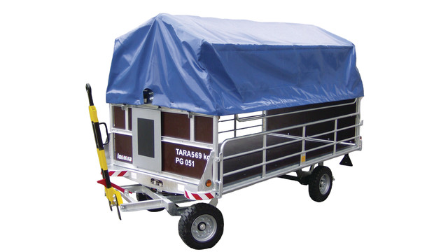 Baggage Cart Ftw 2 0dd Aviationpros Com