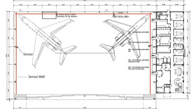 Preventing hangar rash for Aircraft hangar home designs