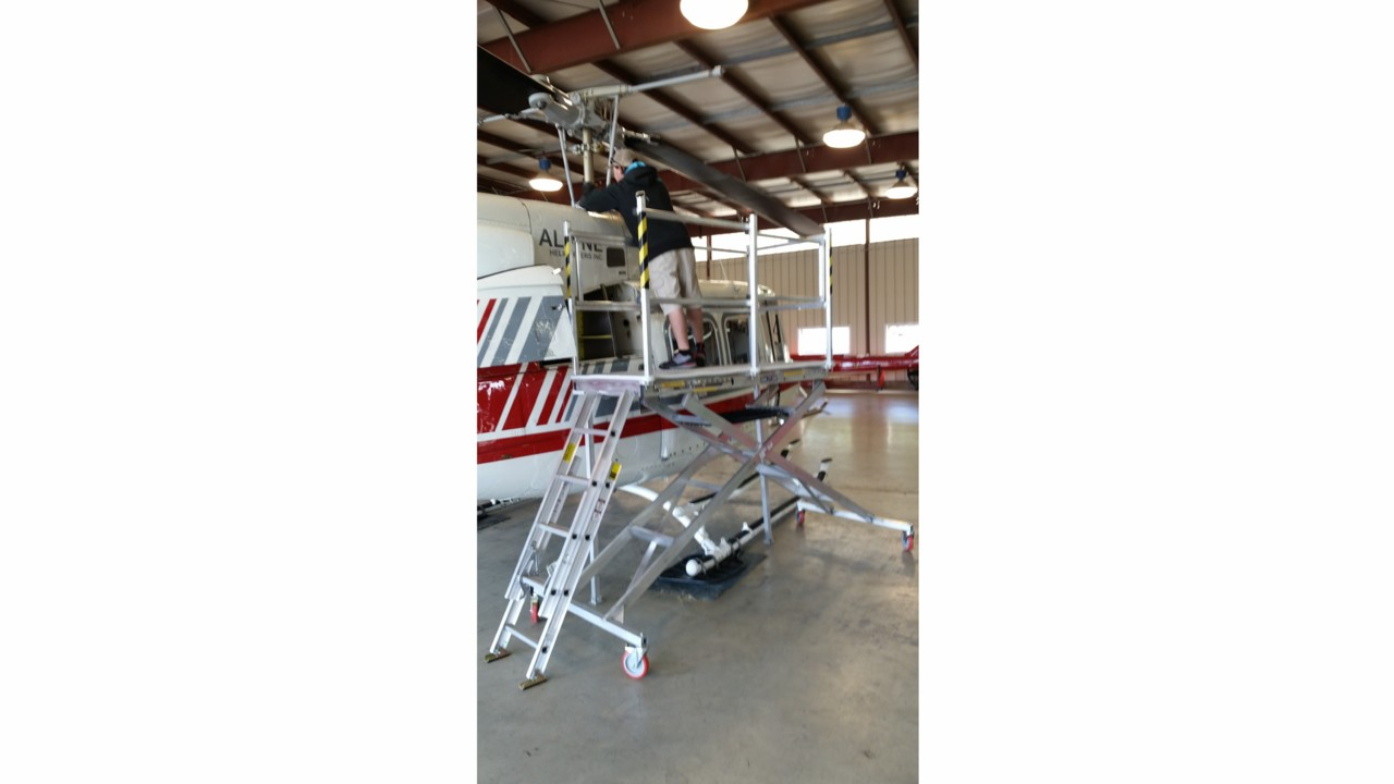 Scissor Deck Maintenance Platforms Aviationpros Com