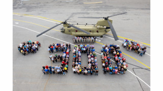 Boeing Delivers 300th CH-47F Chinook to U.S. Army Ahead of Schedule