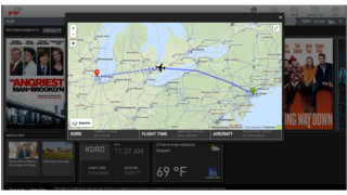 Moving Map Capabilities for Gogo Vision