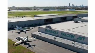 Dassault Falcon Jet Little Rock Receives Pollution Prevention Award