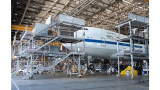 Lufthansa Technik Overhauls Two Space Special Mission Aircraft in Parallel