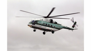 Russian Helicopters' Mi-38 Pre-series Production Prototype Makes First Flight