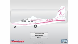Mustique Airways Flys for Breast Cancer Awareness & Research