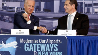 Biden Touts Plans to Fix 'Third World' NYC Airport