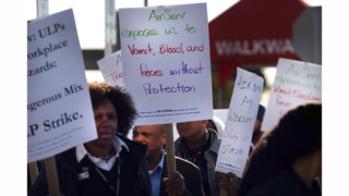 Cabin Cleaners' Strike In New York 'Not Just About Ebola,' Union Says