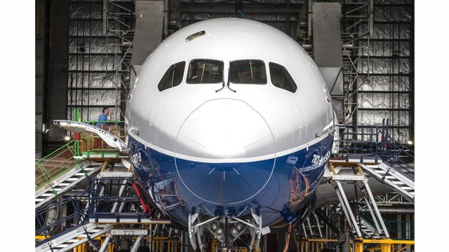 Boeing Shares Fall On Worries About 787 Costs And Cash Flow