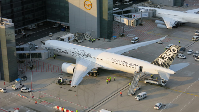Lufthansa Technik is Offering Comprehensive Technical Support for the Airbus A350