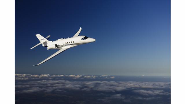Cessna's Flagship Citation Latitude Debuts at NBAA