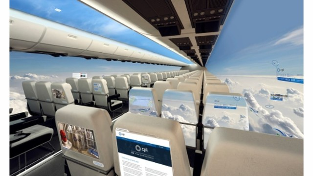 Windowless Plane Set To Take Off In A Decade