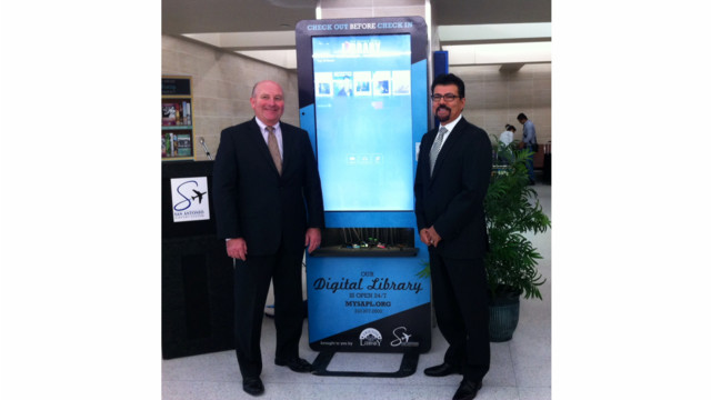 San Antonio International Airport Debuts Digital Library