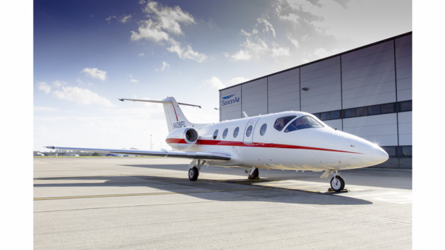 First Nextant Remanufactured Business Jets Arrive in the UK