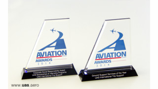 UAS Named 'Ground Service Provider Of The Year'