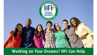 Apply for an HFI Scholarship