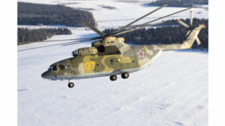 Mi-26 Saves Polar Bear Cub