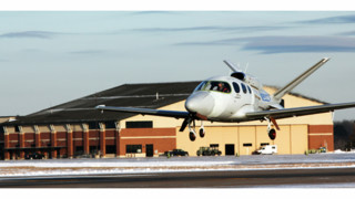 Second Conforming Vision SF50 Jet Takes Flight in Certification Program