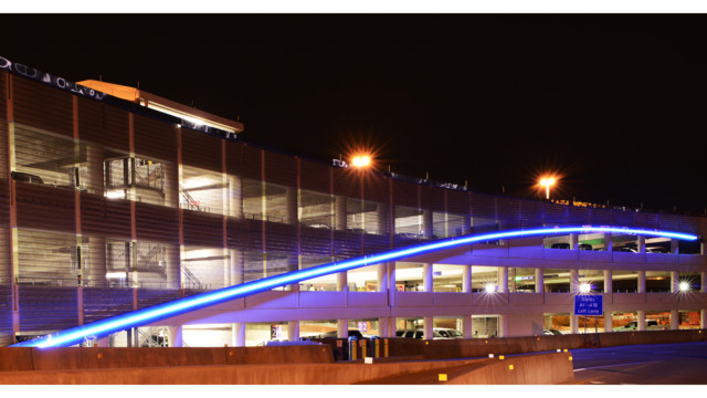 Cambridge Architectural Mesh Accents Terminal A Garage As DFW Marks 40th Year