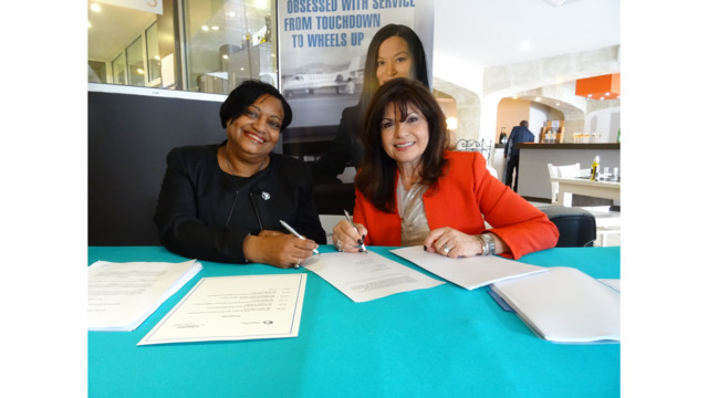 Signature Flight Support Signs Agreement With Princess Juliana International Airport For New General Aviation and Signature Terminal