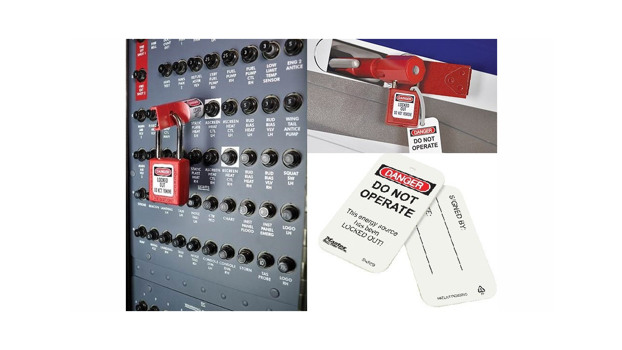 Peerless Online Store Now Features Master Lock Aircraft Lockout Circuit Breakers In The Off Position Without Locking Out An Entire Tagout Loto Systems