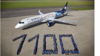 Aeromexico Receives 1,100th Embraer E-Jet