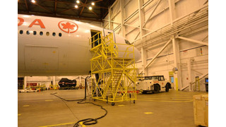 WIDE BODY AIRCRAFT ACCESS STAND
