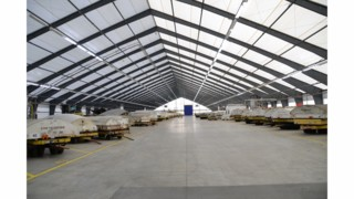 Legacy The First To Offer Tension Fabric Buildings  With Rigid Frame For Aircraft Hangars, Storage