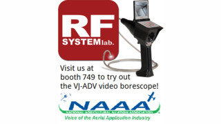 VJ-Advance Video Borescope Expands into the Agricultural Aviation Industry