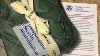 TSA Agents' Gift Wrapping Skills Show They're No Santa's Elves