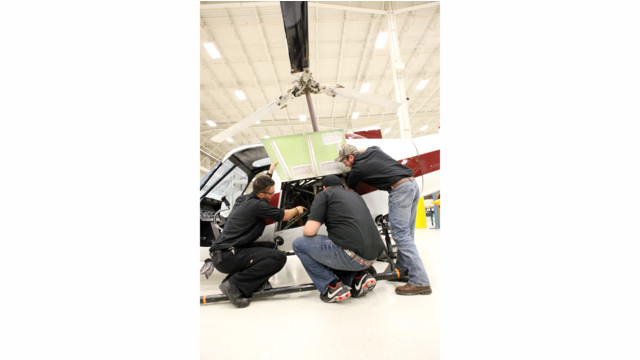Rotorcraft Outreach to A&P Schools