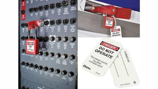 Peerless Online Store Now Features Master Lock Aircraft Lockout/Tagout (LOTO) Systems