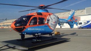 All Metal MS Delivers Helicopter Landing Platform to Calstar