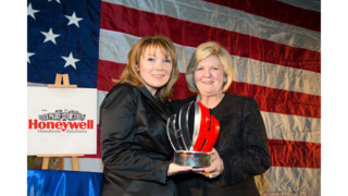 Honeywell Presents Deborah Barnhart, CEO, U.S. Space & Rocket Center, Its Hometown Heroes Award