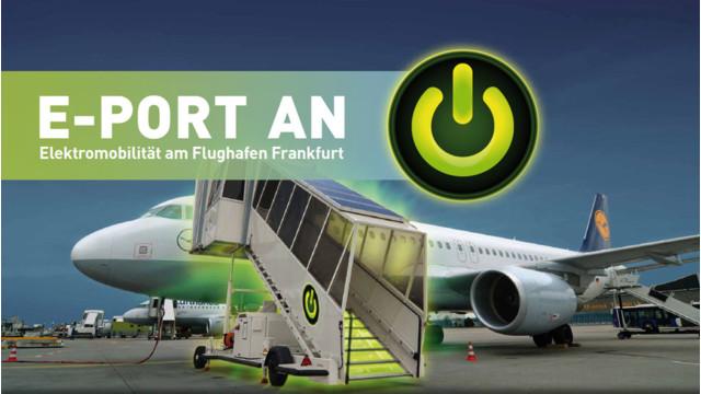 Fraport Goes Electric  At Frankfurt