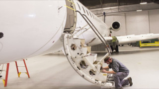 C&L Moves Into Larger Aircraft Market With CRJ 700