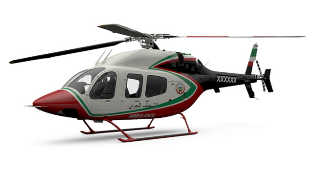 First Bell 429s Configured for HEMS in the Middle East to be Operated by the Kuwait Ministry of Health