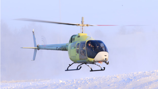 Bell 505's Second Flight Test Vehicle Achieves First Flight