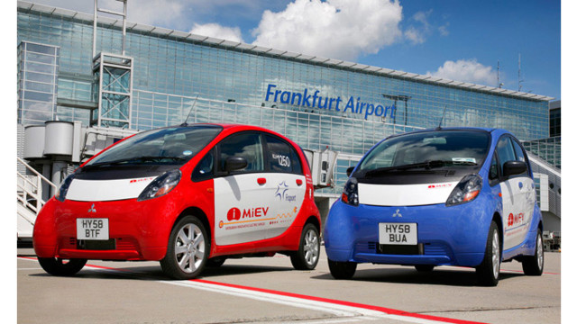 Mitsubishi i MiEV at Fraport 54d141f7c33a3