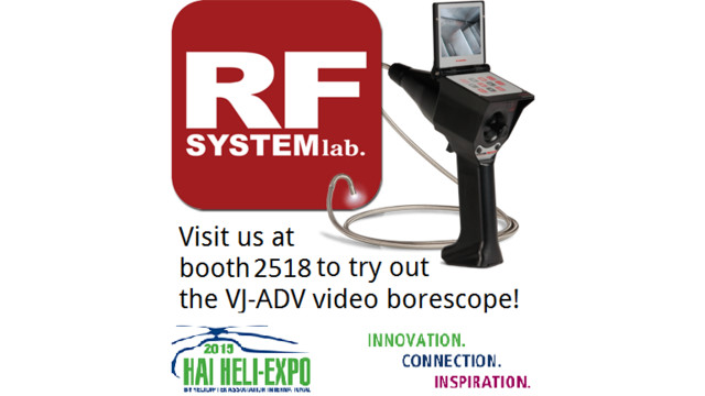 RF System Lab Returns to HAI Heli-Expo