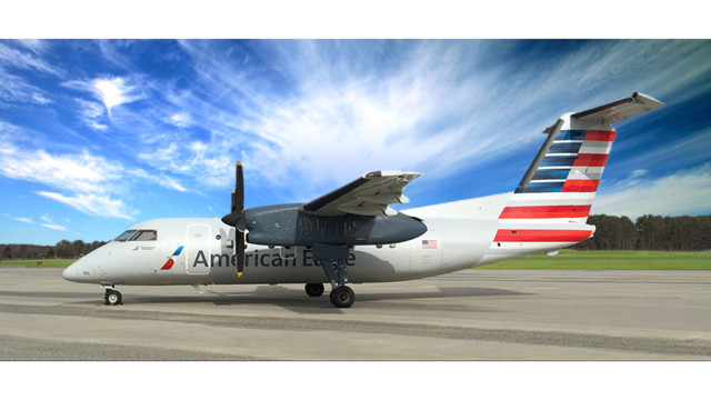 Universal Avionics FMS Selected for Piedmont Airlines Dash 8 Fleet
