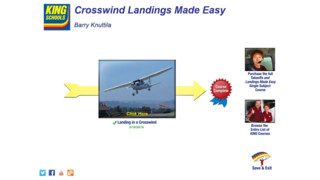 Crosswind Landings Made Easy – For Free