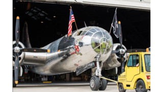 Doc's Friends Hold Rollout For Restored B-29