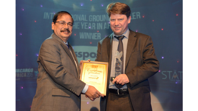 Swissport Wins Its Third Consecutive Award For Cargo Operations In Africa