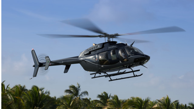 Bell Helicopter Introduces the new Bell 407GXP