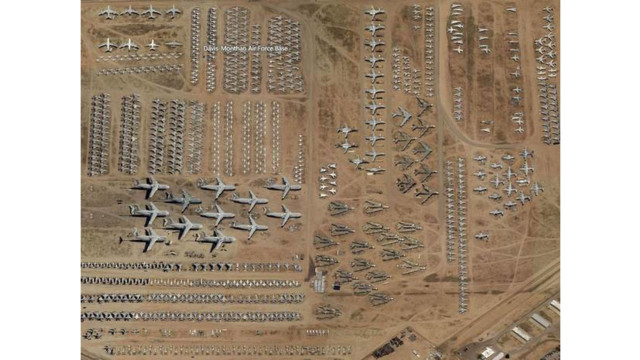 World's Largest Military Plane Graveyard Can Now Be Explored Online