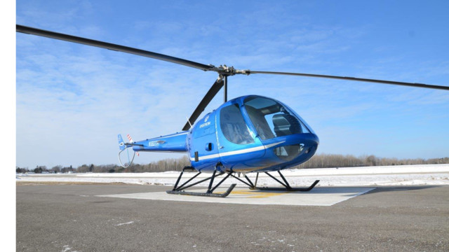 First Flight of the Enstrom TH180