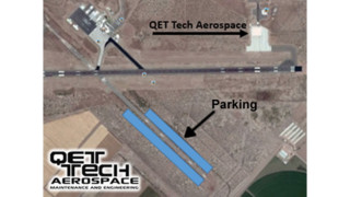 QET Tech Aerospace Secures Storage Land from CEN Airport
