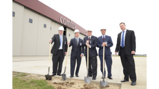 Comlux America Breaks Ground on Wide Body Hangar