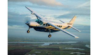 Cessna Marks 30th Anniversary of Caravan Utility Aircraft